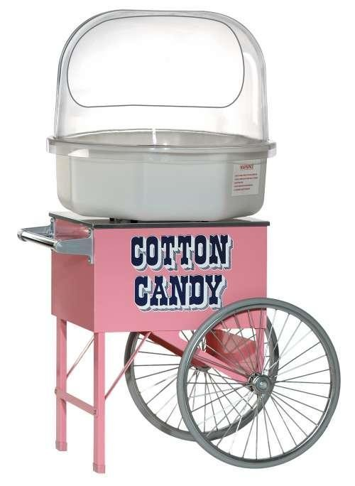 Add a Cotton Candy Cart for a more decorative theme! Cotton Candy includes 50 servings of Grape, Blueberry or Strawberry Sugar and Cones