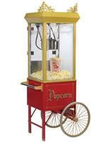 Add a Popcorn Cart for a more classic look! Popcorn Rental Includes 50 Servings of Popcorn, Movie Butter, and Bags