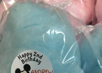Cotton Candy Favors - Birthday