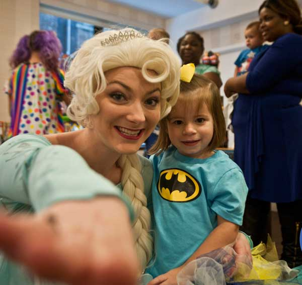 Elsa Princess Party