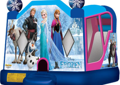 Frozen Combo Unit Bounce House