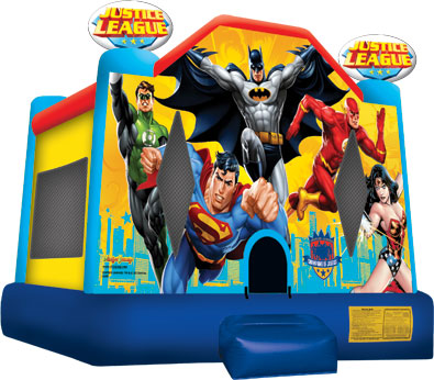 League of Justice Bounce House